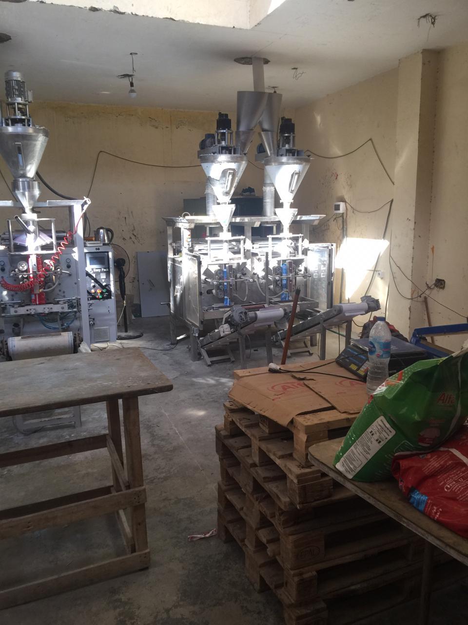 مصنع بدون تراخيص