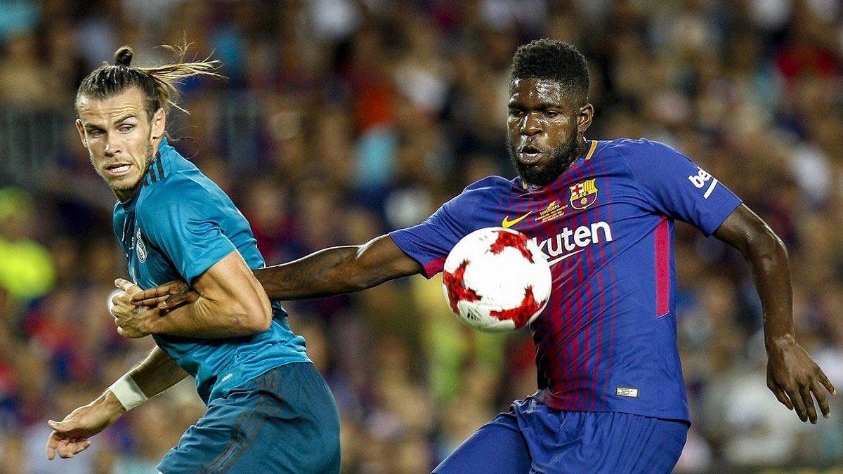 جانب من مباراة سابقة بين برشلونة وريال مدريد