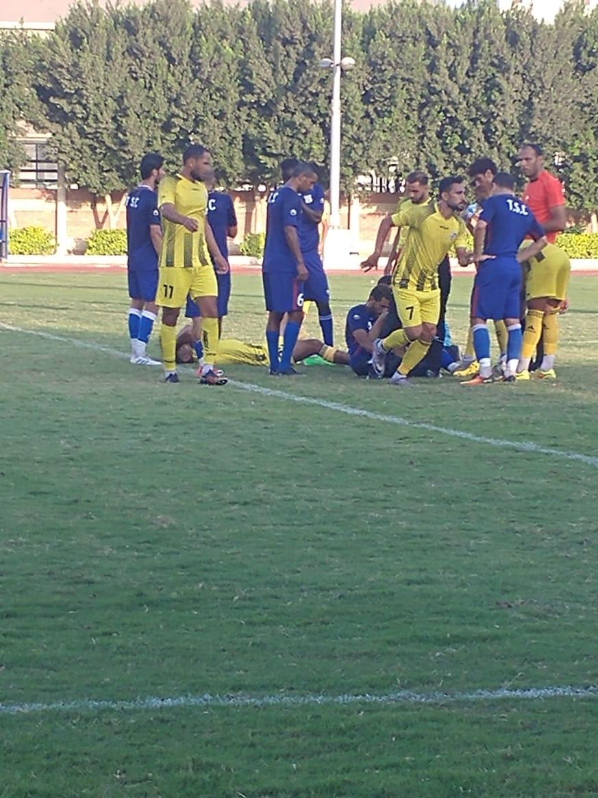 طنطا يخسر بهدف نظيف وديا أمام فريق محمد صلاح