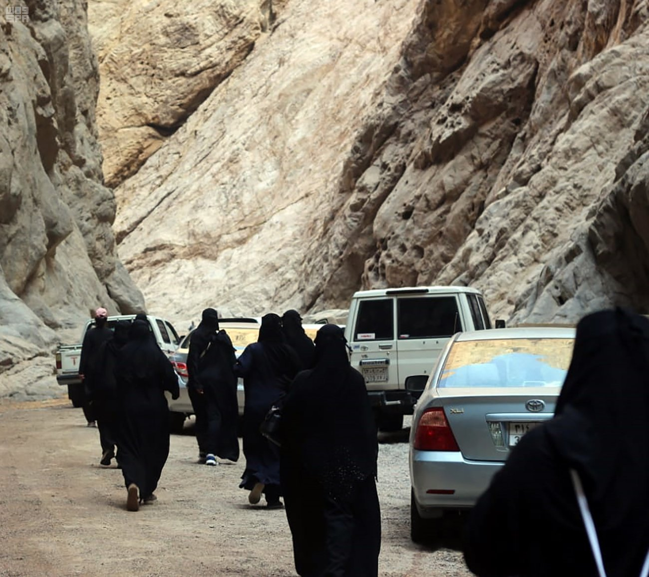 السائحات السعوديات فى نيوم