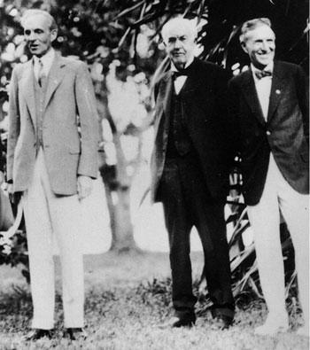 هارفي-فايرستون-وتوماس-إديسون-وهنري-فورد-على-التوالي-1929