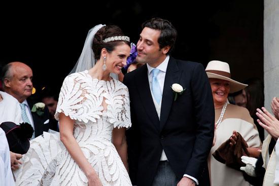 حفيد نابليون يتزوج حفيدة إمبراطورة فرنسا