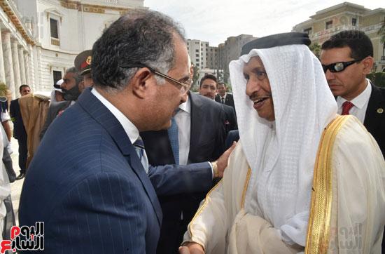 استقبال رئيس وزراء الكويت