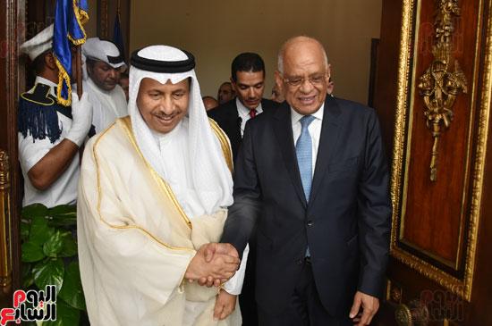 رئيس البرلمان ورئيس وزراء الكويت