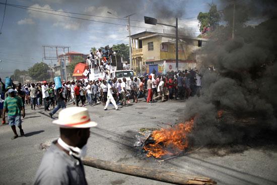 العنف فى هايتى