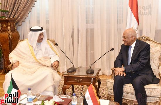 رئيس البرلمان ورئيس الوزراء الكويتى