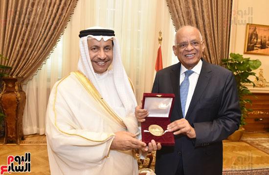 رئيس وزراء الكويت ورئيس مجلس النواب