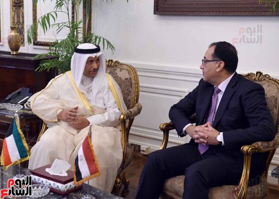 رئيسا وزراء مصر والكويت