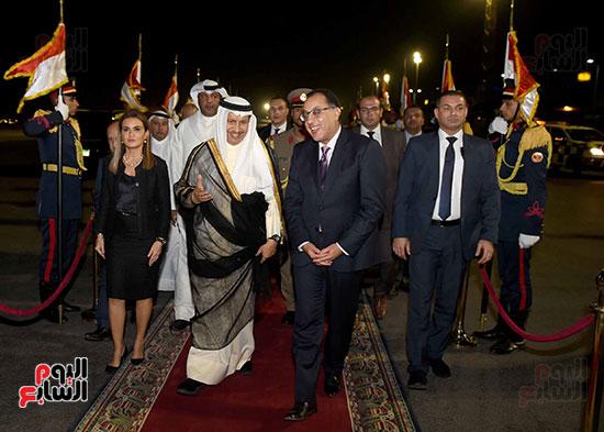 مدبولى مع رئيس وزراء الكويت (2)