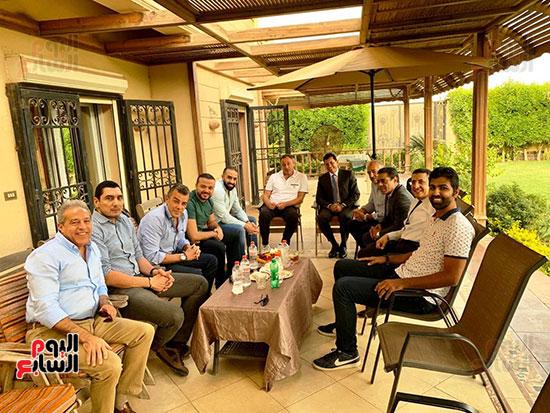 اجتماع الخطيب ووزير الرياضه (1)