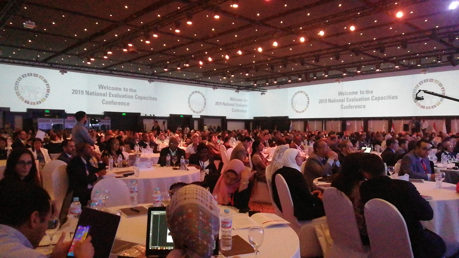 الجلسة الافتتاحية من النسخة السادسة لمؤتمر قدرات التقييم الوطنية 2019 المنعقد بالغردقة اليوم (2)