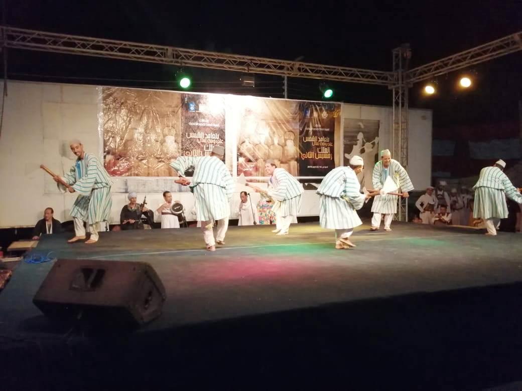 معرض القافلة الثقافية وعرض الصوت والضوء والحفل الفنى بمنطقة السوق (7)