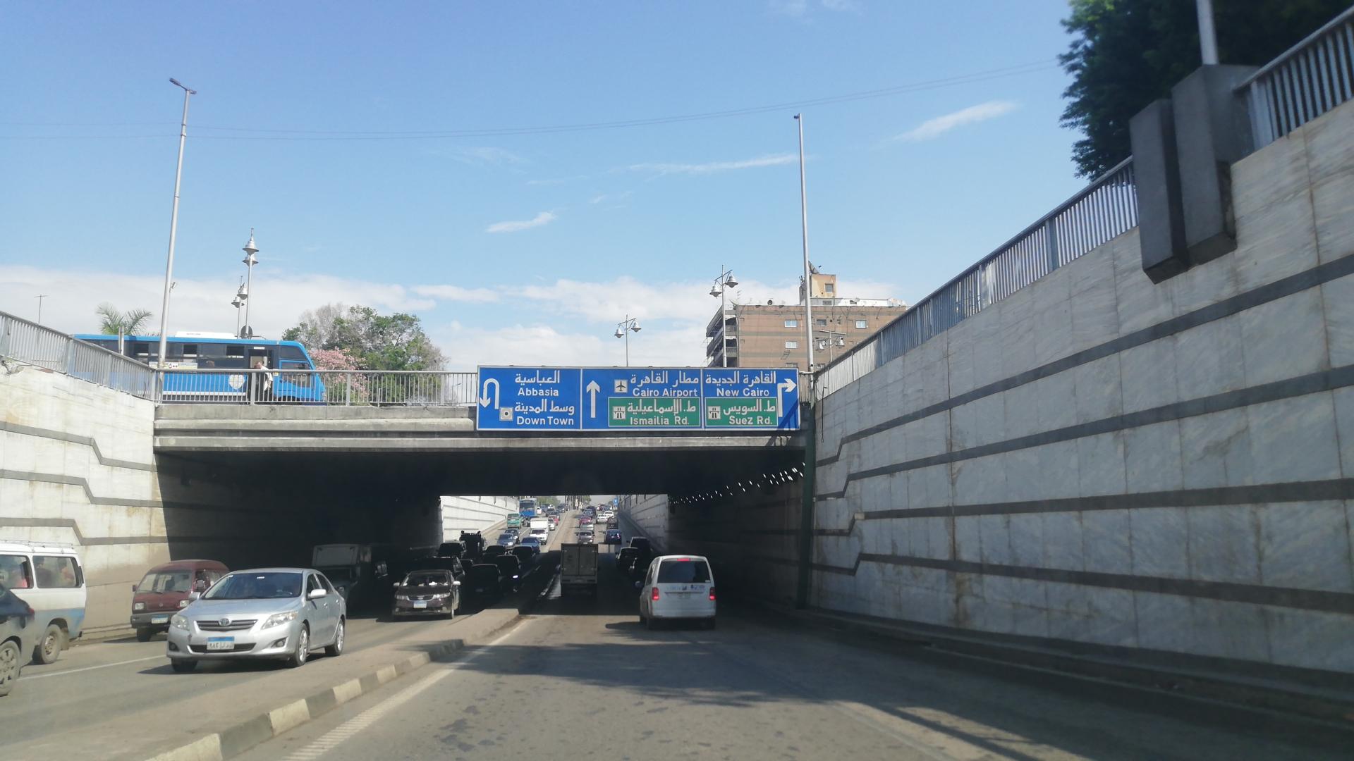 فتح نفق العروبة بمصر الجديدة بعد شفط المياه (2)
