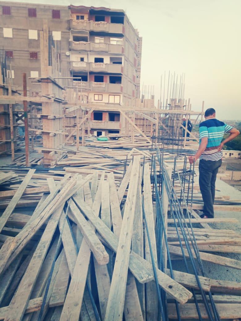 ازالة البناء المخالف