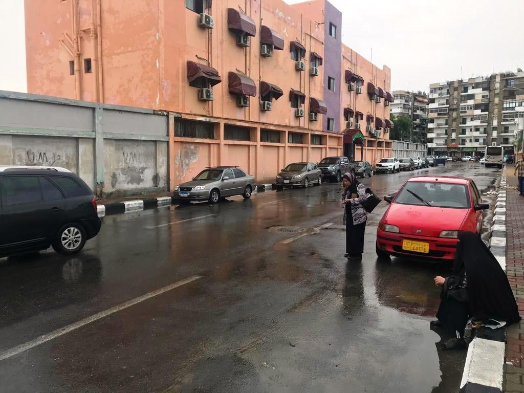 رفع مياه الأمطار ببورسعيد (2)