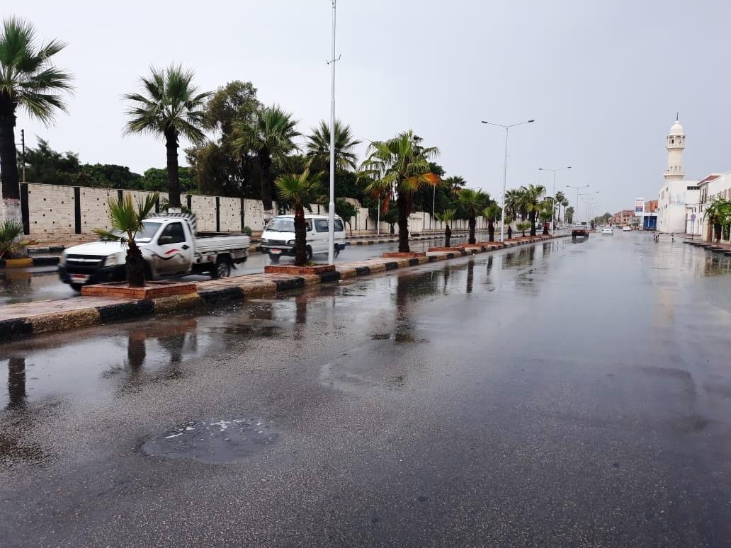 رفع مياه الأمطار ببورسعيد (1)