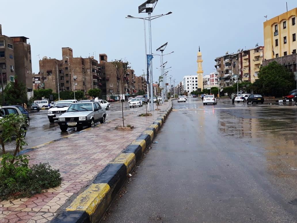 رفع مياه الأمطار ببورسعيد (5)