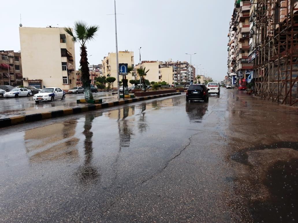 رفع مياه الأمطار ببورسعيد (8)