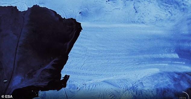 شقوق انتاركتيكا 2
