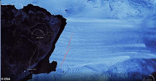 شقوق انتاركتيكا 3