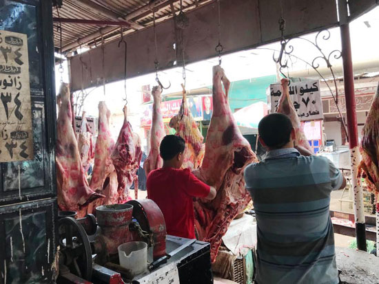 الجزارين-يقررون-خفض-أسعار-اللحوم-فى-الغربية-(11)