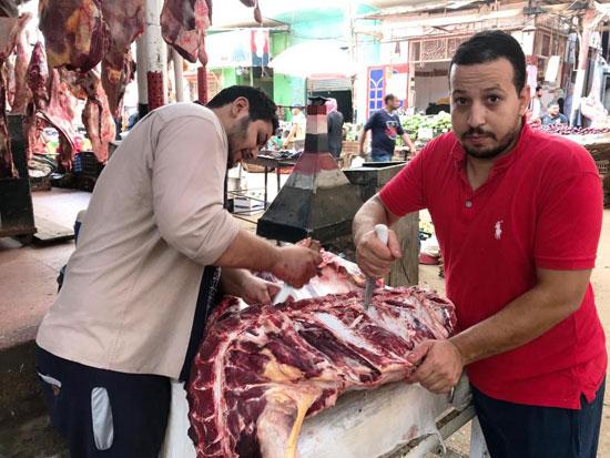 الجزارين-يقررون-خفض-أسعار-اللحوم-فى-الغربية-(17)