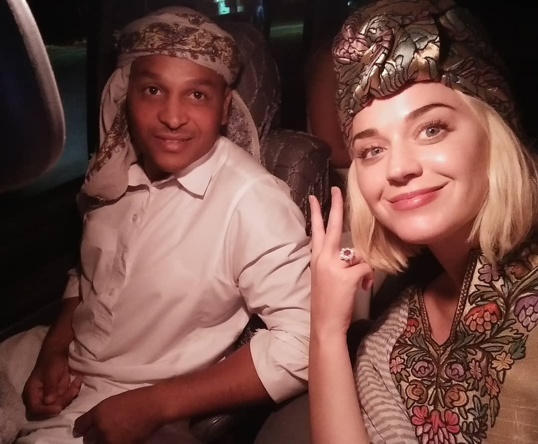 كاتى بيرى فى مصر
