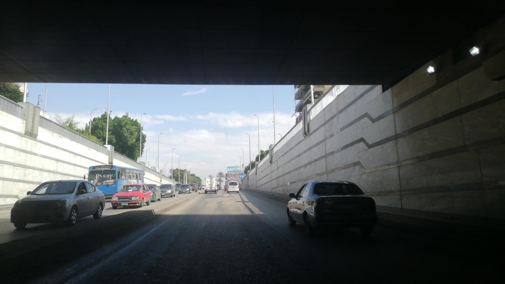 فتح نفق العروبة بمصر الجديدة بعد شفط المياه (4)