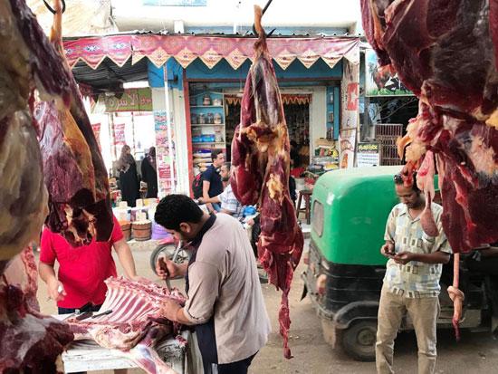 الجزارين-يقررون-خفض-أسعار-اللحوم-فى-الغربية-(8)