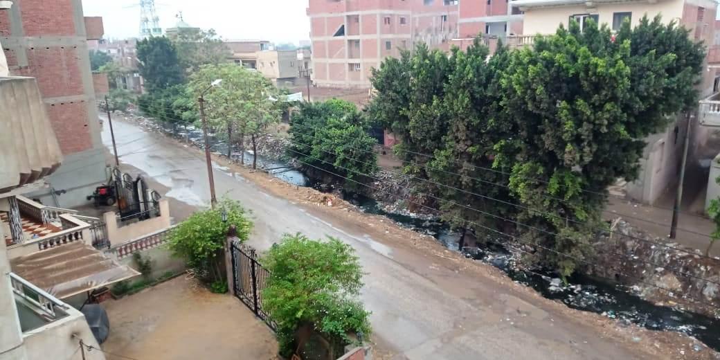 أمطار رعدية تضرب مدن القليوبية وقطع الكهرباء ببعض المناطق (5)