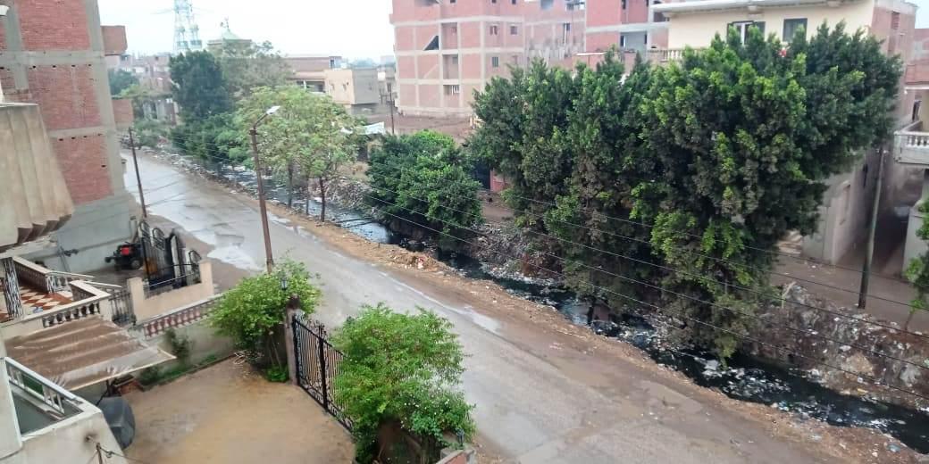 أمطار رعدية تضرب مدن القليوبية وقطع الكهرباء ببعض المناطق (3)