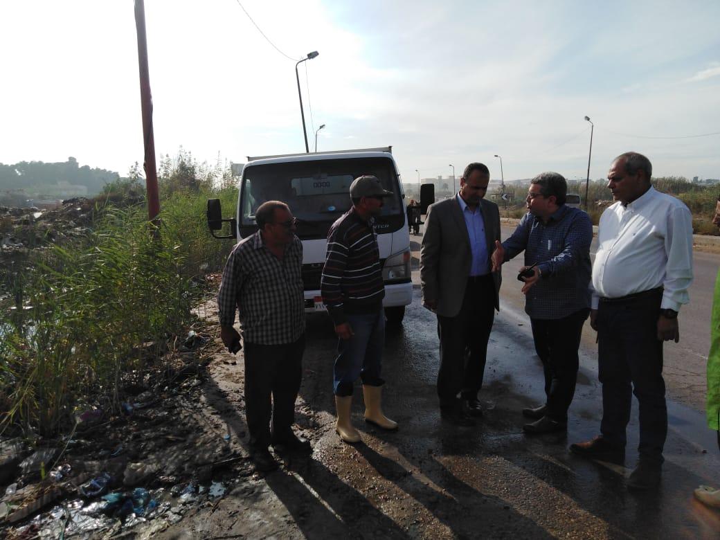 محافظ الإسكندرية يكلف السكرتير العام بتفقد تصريف الأمطار خلال النوة (2)