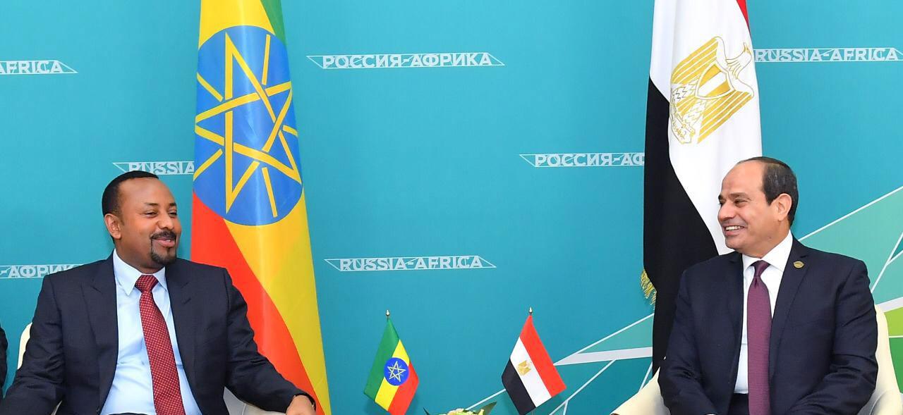 الرئيس عبد الفتاح السيسى، ورئيس الوزراء الإثيوبي آبي احمد، (3)