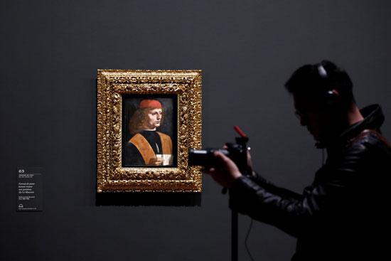 لوحة للفنان ليوناردو دافنشي