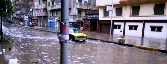 الأمطار-تغرق-المحافظات-وإغلاق-الموانئ-فى-الإسكندرية-وكفر-الشيخ-(9)