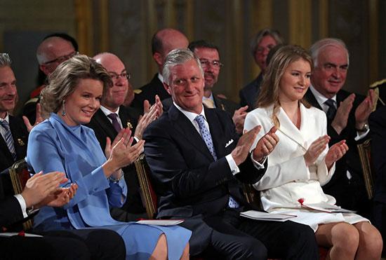 الأسرة المالكة فى بلجيكا