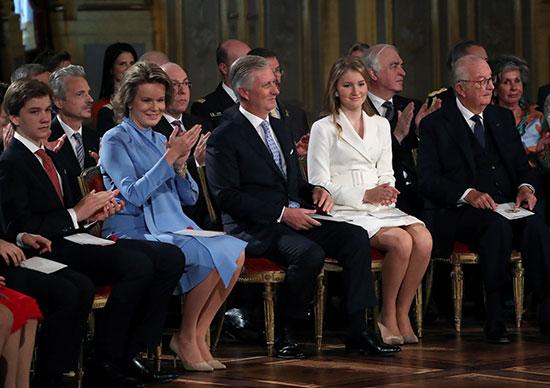 أسرة الملك البلجيكى فليب