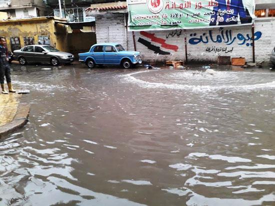 الأمطار-تغرق-المحافظات-وإغلاق-الموانئ-فى-الإسكندرية-وكفر-الشيخ-(1)