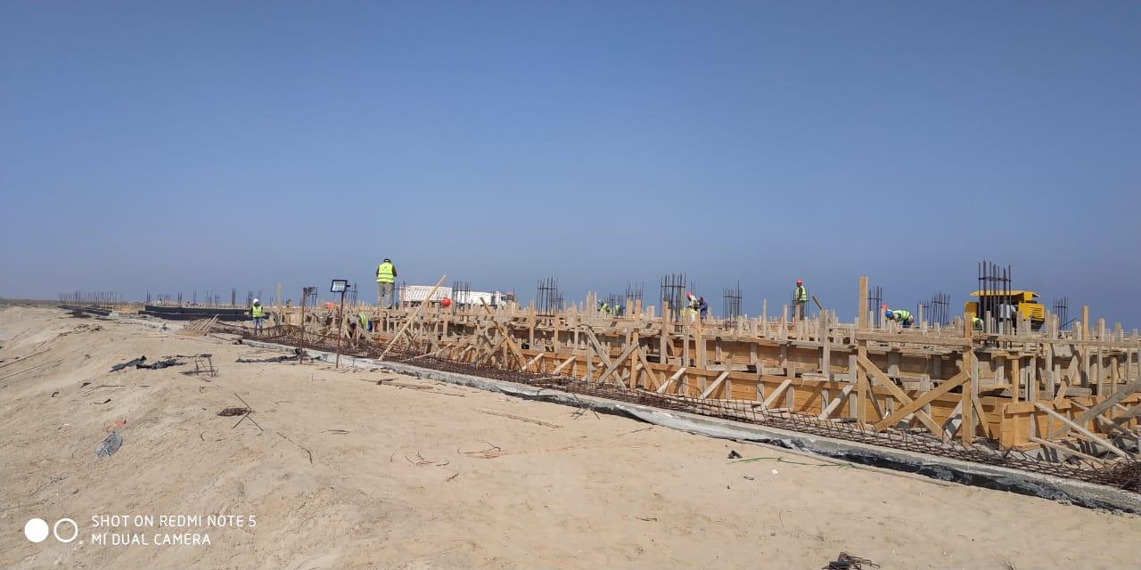 إنشاء أكبر محطة لتحلية مياه البحر بالمنصورة (2)