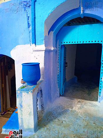 احد-المنازل-في-شيتشاون-المغربية