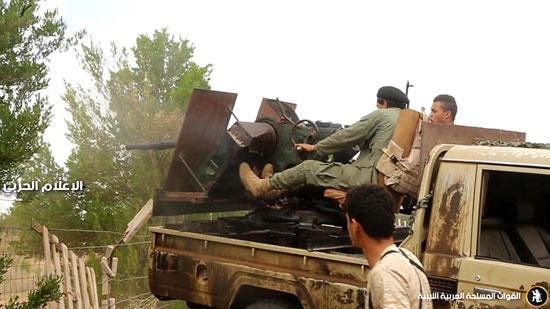 الجيش الليبى يسيطر على مناطق جديدة فى محاور القتال (3)