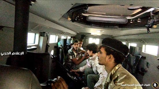 الجيش الليبى يسيطر على مناطق جديدة فى محاور القتال (1)