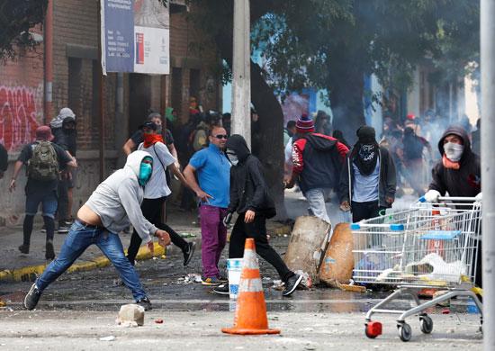 71019-استمرار-العنف-فى-تشيلى