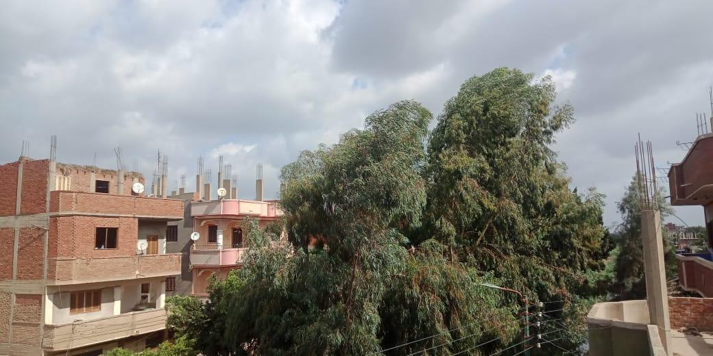 الغيوم تسكو سماء القليوبية