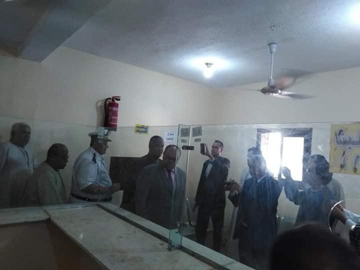 مدير أمن الأقصر يشهد إفتتاح السجل المدني بأصفون ويشيد بالتجهيزات بالجهود الذاتية (1)