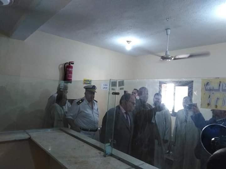 مدير أمن الأقصر يشهد إفتتاح السجل المدني بأصفون ويشيد بالتجهيزات بالجهود الذاتية (3)