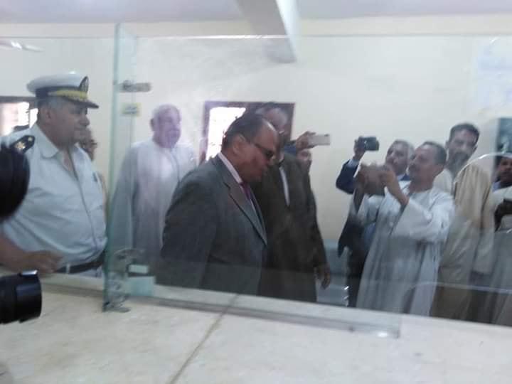 مدير أمن الأقصر يشهد إفتتاح السجل المدني بأصفون ويشيد بالتجهيزات بالجهود الذاتية (5)
