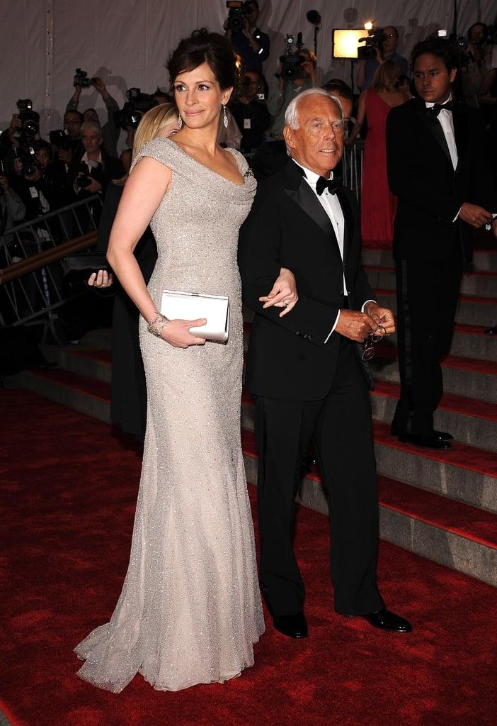 جوليا روبرتس فى حفل Met Met 2008