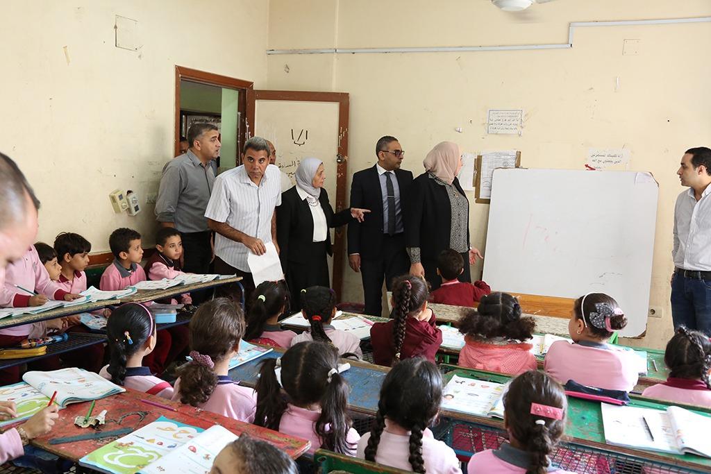 رئيس جودة التعليم والاعتماد تتفقد المدارس المعتمدة فى 8 محافظات (3)