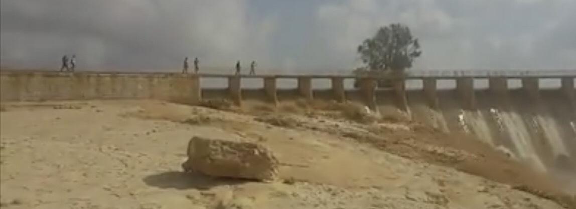 سد الروافعة بشمال سيناء (2)